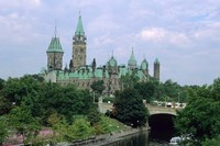 Parliament Building in Ottawa Fine Art Print