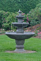 Fountain at KIngsbrae Garden Fine Art Print
