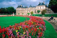 Luxembourg Palace in Paris, France Fine Art Print