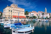 Sanary Sur Mer, France I Framed Print