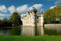 Chateau of Azay-le-Rideau, Loire Valley, France Fine Art Print