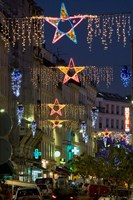 Christmas Lights in Paris Fine Art Print