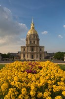 Hotel des Invalides, Paris, France Fine Art Print