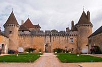 Medieval Chateau de Rully Fine Art Print