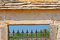 Gate and Key Stone Carved with Montrachet Fine Art Print