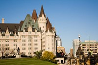 Chateau Laurier Hotel in Ottawa Fine Art Print