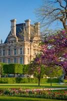 Springtime in Jardin des Tuileries Fine Art Print
