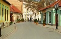 Main Street, Tokaj, Hungary Fine Art Print
