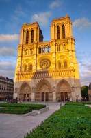 Cathedral Notre Dame, Paris, France Fine Art Print