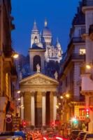 Notre Dame de Lorette and Basilique Fine Art Print