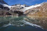 Lake and Glacier Simonykees Fine Art Print