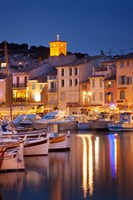 Cassis at Twilight Fine Art Print
