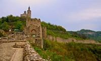 Tzarevetz Fortress, Bulgaria Fine Art Print