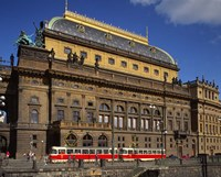 National Theatre, Prague, Czech Republic Fine Art Print