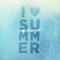 I Heart Summer Fine Art Print