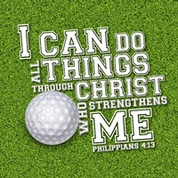 I Can Do All Sports - Golf Fine Art Print