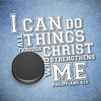 I Can Do All Sports - Hockey Fine Art Print