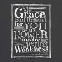 My Grace Is Sufficient Fine Art Print