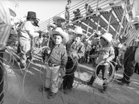Littlest Cowboys: The Horton Brothers Fine Art Print