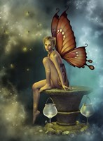 Fairy Glowflies Fine Art Print