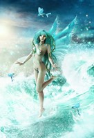 Dance Of The Sea Fairy Fine Art Print