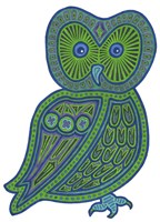 Owl Green Fine Art Print