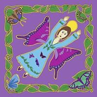 Butterfly Angel Framed Print