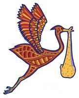 Stork Fine Art Print