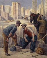 The Diggers, 1908-1912 Fine Art Print