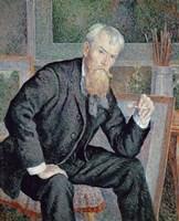 Portrait Of The Painter Henri Edmond Cross, 1898 Fine Art Print