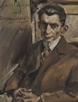 Portrait Of Julius Meier-Graefe, 1914 Fine Art Print