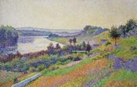 The Seine At Herblay, 1890 Fine Art Print