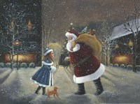 Yes Virginia, There Is A Santa Fine Art Print