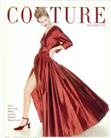Couture December 1954 Framed Print