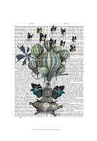 Flutter Time Framed Print