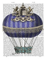 Baroque Fantasy Balloon 4 Framed Print