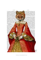 Fox Queen Framed Print