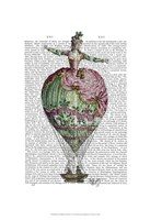 Hot Air Balloon Woman 2 Framed Print