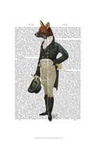 Dandy Fox Full Framed Print