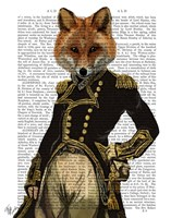 Admiral Fox Full I Framed Print
