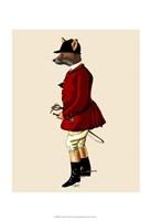Fox Hunter 1 Fine Art Print
