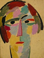 Mystic head: Anika, 1917 Fine Art Print