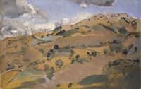 Landscape in Provence Fine Art Print