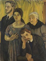 Family Portrait, 1912 Fine Art Print