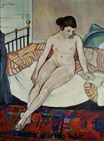 Female Nude, 1922 Fine Art Print