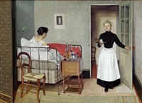 The Sick Patient (Helene Chatenay), 1892 Fine Art Print