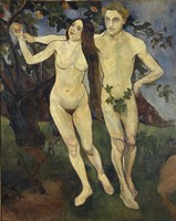 Adam and Eve, 1979 Fine Art Print