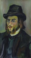 Portrait of Erik Satie (1866-1925), 1892-93 Fine Art Print