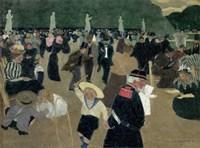 Jardin du Luxembourg, 1895 Fine Art Print