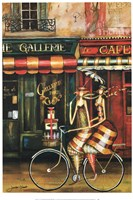 Girlfriends in Paris Fine Art Print